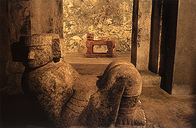 Chac Mool and Jaguar at Chichén Itzá